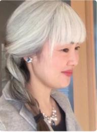 理美 白髪 手塚